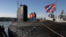 Дизельная подводная лодка класса Варшавянка. Архивное фото