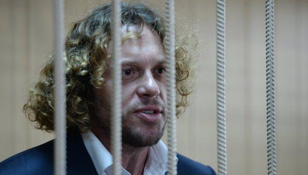 Бизнесмен Сергей Полонский в Тверском суде Москвы. Архивное фото