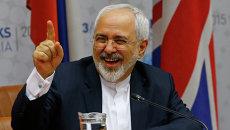 Министр иностранных дел Ирана Мохаммад Джавад Зариф. Архивное фото