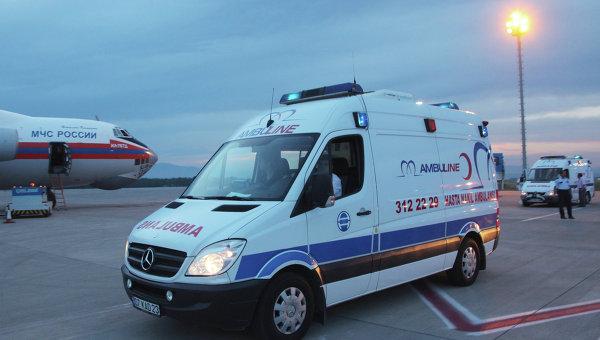 Отправка в Москву граждан России, пострадавших в результате ДТП в Анталье