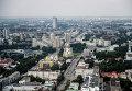 """Вид на Екатеринбург со смотровой площадки бизнес-центра """"Высоцкий"""""""