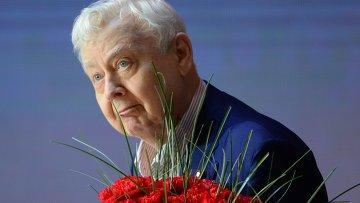 Актер, художественный руководитель МХТ им. А. П. Чехова Олег Табаков. Архивное фото