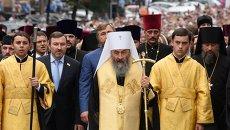 Молебен на Владимирской горке в честь 1000-я крещения Киевской Руси