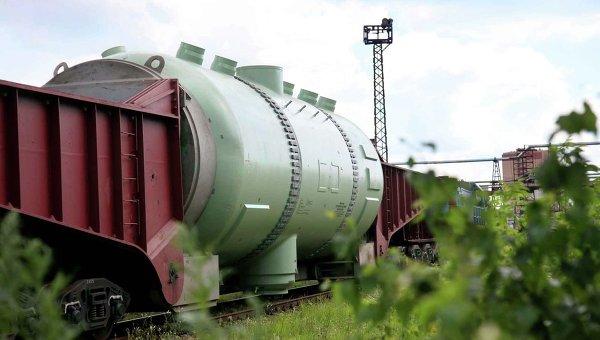 Первый парогенератор, отправленный на IV блок Тяньваньской АЭС в КНР