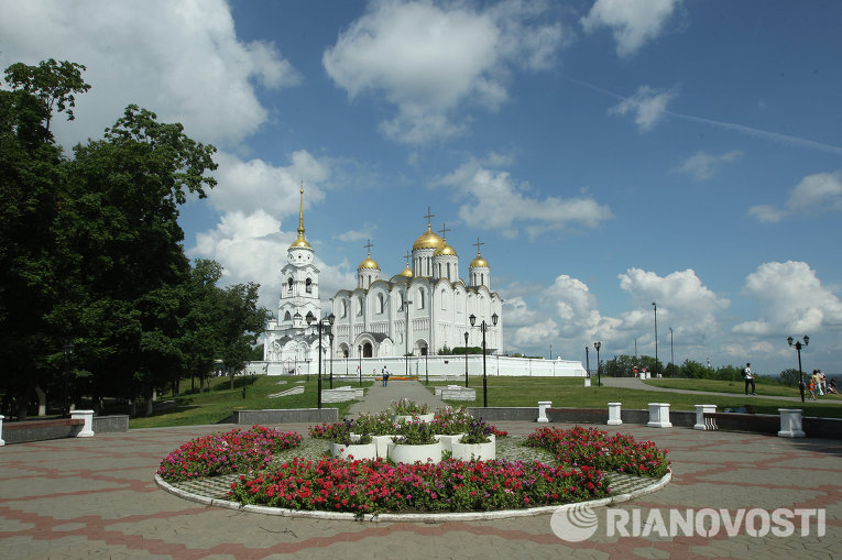 Город Владимир, Успенский собор. Архивное фото