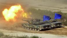 Военные учения Южной Кореи и США возле границы с Северной Кореей