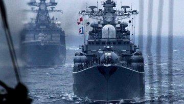 Корабли Тихоокеанского флота РФ. Архивное фото
