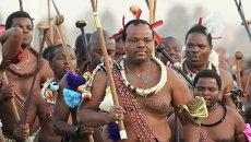 Король Свазиленда Мсвати III. Архивное фото