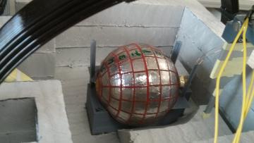 Экспериментальная установка в лаборатории ученых