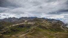 Северные склоны Кодорского хребта, Абхазия.
