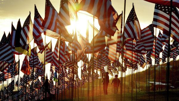 Памятные мероприятия по жертвам терактов 11 сентября 2001 года в США. Архивное фото