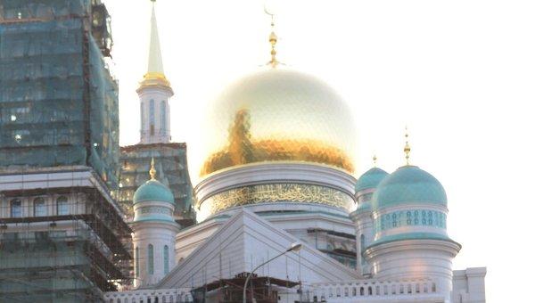 Празднования Ураза-Байрама в Москве. Архивное фото