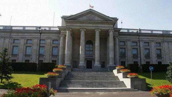 Здание посольства России в Варшаве. Архивное фото