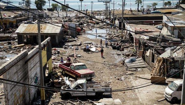 ВИндии 27августа наблюдались землетрясения магнитудой до4,6