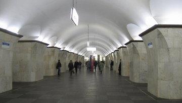 Станция Проспект Мира Калужско-Рижской линии Московского метрополитена. Архивное фото