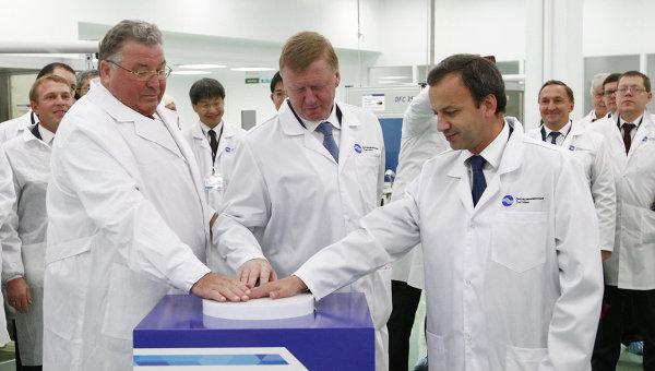 Открытие завода Оптиковолоконные системы в Саранске