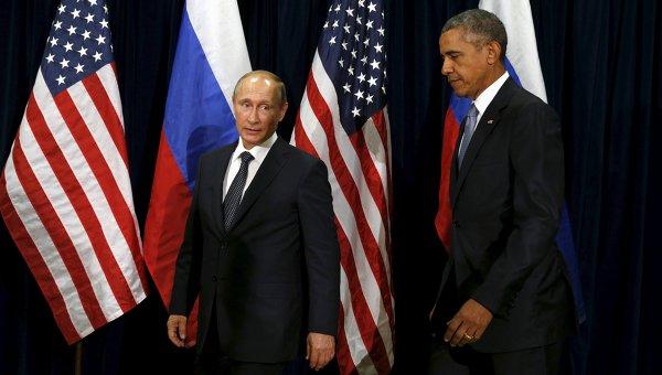 Путин и Обама начали двустороннюю встречу, первую за два года