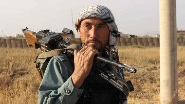Афганский военный. Архивное фото