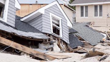 Последствия урагана Сэнди в Нью-Джерси
