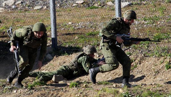 Учения антитеррористических сил. Архивное фото