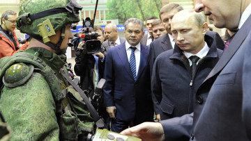 Образец современной экипировки для российской армии Ратник