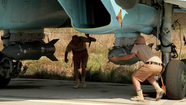 Российские самолеты на базе Хмеймим в Сирии. Архивное фото