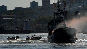Военнослужащие специальных подразделений Тихоокеанского флота. Архивное фото