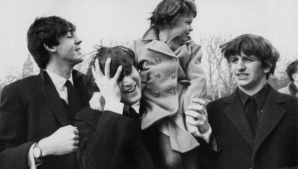 Группа The Beatles в Центральном парке Нью-Йорка, США. 1964 год