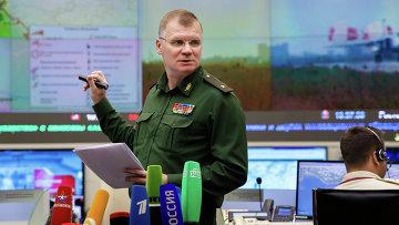 Спикер Минобороны РФ Игорь Конашенков