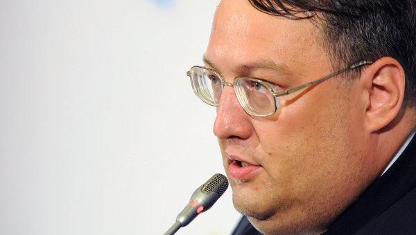Советника главы МВД Украины Антон Геращенко. Архивное фото