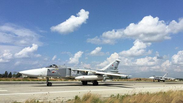 ВВС Сирии получили фронтовые бомбардировщики Су-24М2