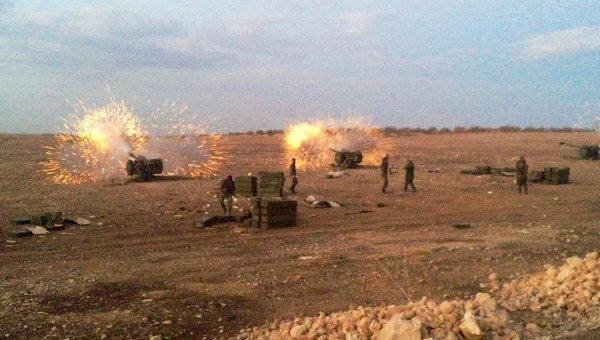 Армия Сирии начала широкомасштабное наступление на позиции ИГ