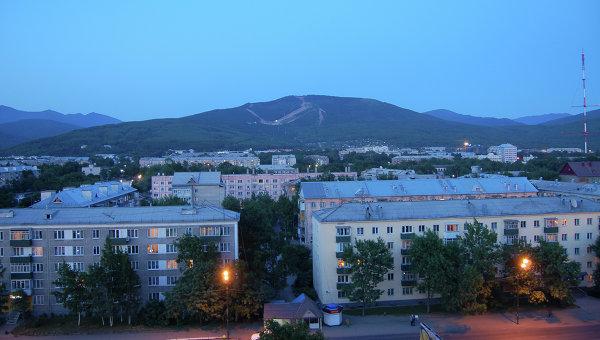 Южно-Сахалинск, архивное фото