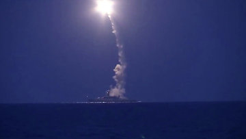 Корабли Каспийской флотилии выполнили пуски крылатых ракет по позициям боевиков ИГ в Сирии. Архивное фото