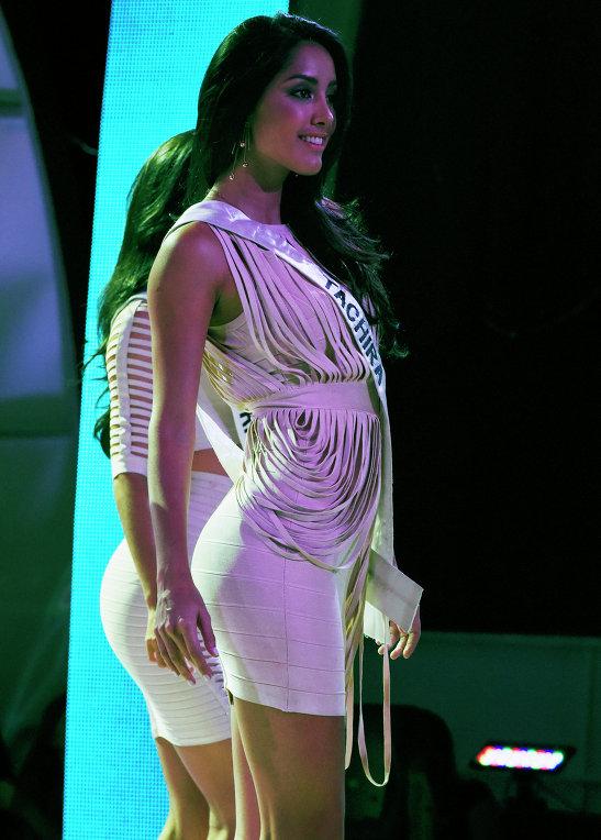 Участница конкурса красоты Мисс Венесуэла 2015 в Каракасе