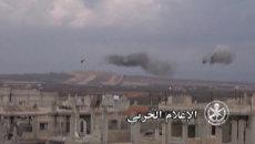 Спецоперация Сирии против ИГ: атака пехоты, танковый обстрел и удары с воздуха