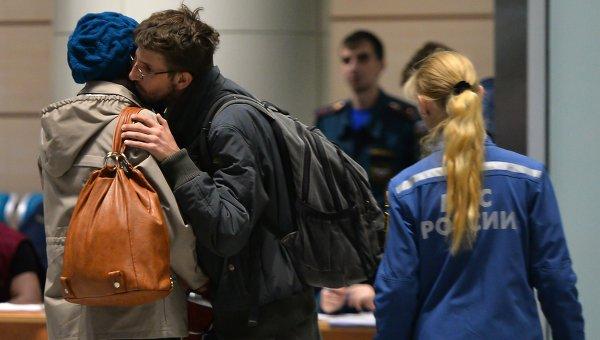 Борт МЧС доставил из Сирии россиян и граждан СНГ