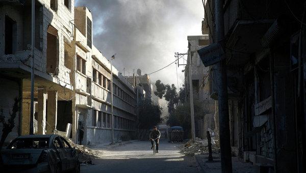 Ситуация в Сирии в октябре 2015 года