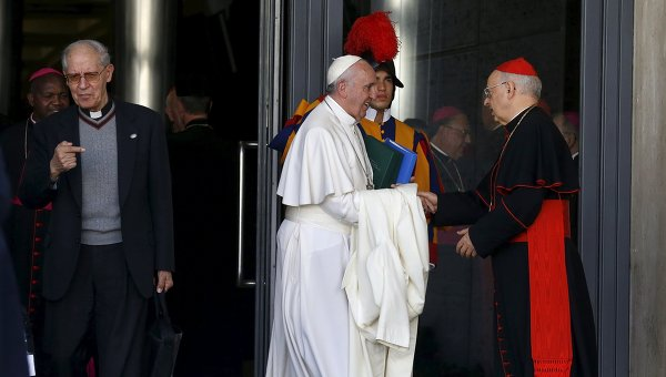 После заседания Синода епископов в Ватикане
