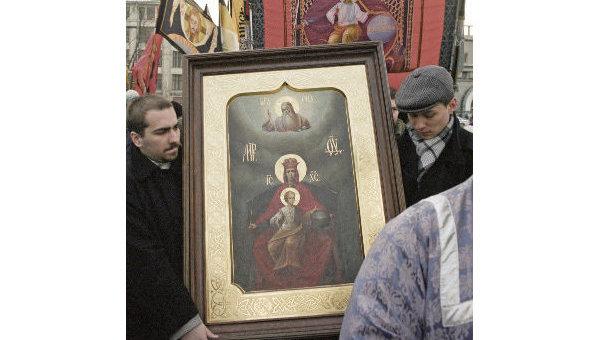 Икона Державной Божией Матери. Архив