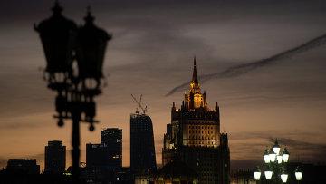 Вид Москвы. Архивное фото