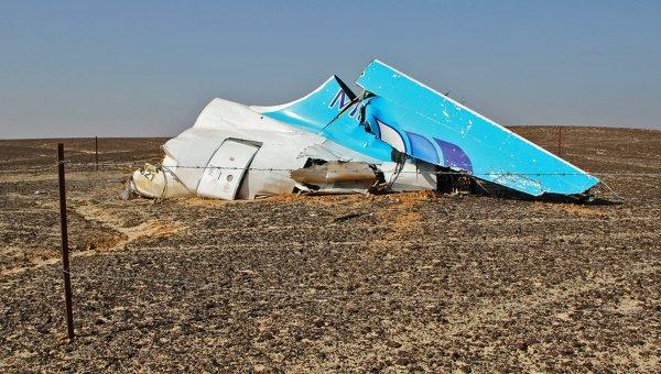 Обломки самолета Airbus A321 авиакомпании Когалымавиа в Египте