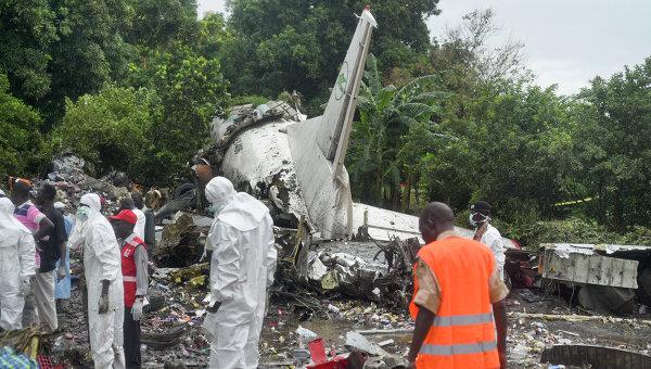 Крушение Ан-12 в Южном Судане