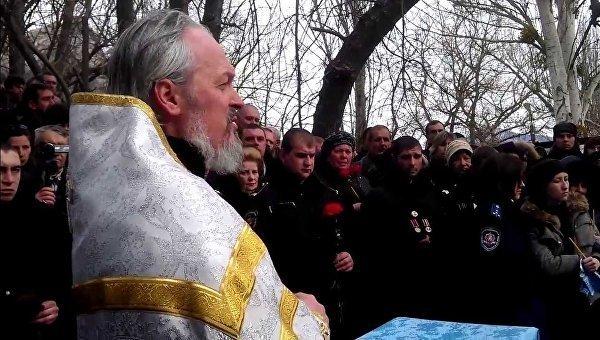 Настоятель Кизилташского монастыря игумен Никон (Демьянюк). Архивное фото