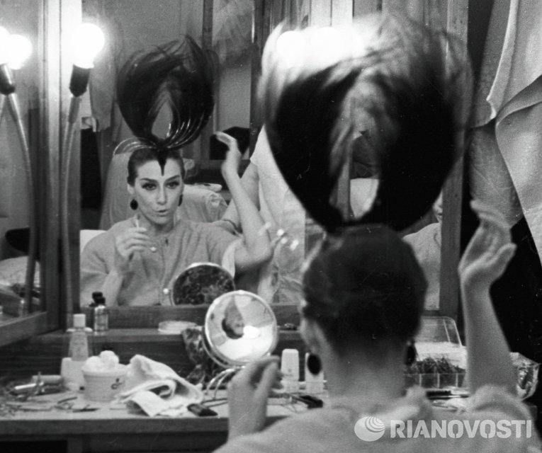 Народная артистка СССР Майя Плисецкая