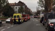 Полиция в поисках предполагаемого террориста перекрыла улицу в Брюсселе