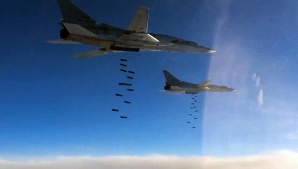 ковровые бомбардировки в Сирии