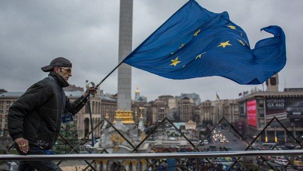 Акция в поддержку евроинтеграции Украины на площади Независимости в Киеве. Архивное фото