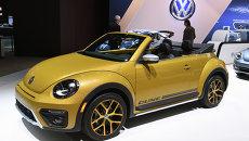 Автомобиль Volkswagen Beetle Dune. Архивное фото