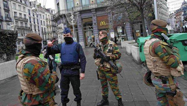 Усиление мер безопасности в Брюсселе, 21 ноября 2015